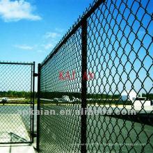 9 calibraron la cerca galvanizada del acoplamiento de cadena del alambre del hierro (fábrica de 30 años)