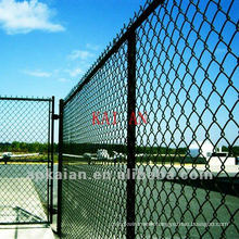 9 gauge galvanized iron wire chain link fence(30 years factory)