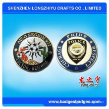 Kundenspezifischer Metallandenken-Münzen-Hersteller von China