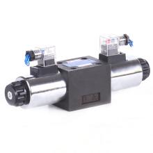 Válvula de hierro fundido solenoide direccional NG10