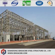 Structure en acier pour le hangar