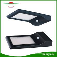 Iluminación al aire libre Impermeable 48 LED Lámpara de montaje en pared de alto lumen Luz de la noche Luz de sensor de movimiento accionado solar