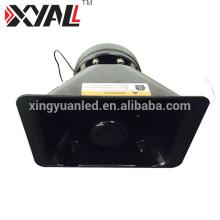 Corne de barre lumineuse en aluminium de haute qualité de haut-parleur de voiture de tweeter avec le haut-parleur mince de 100w Siren 200w