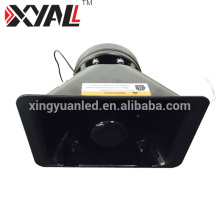 Aluminum High Quality Tweeter Car Loudspeaker Light Bar Horn with 100w Siren 200w Slim Speaker