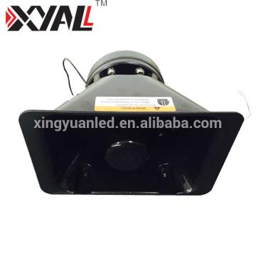 Aluminum High Quality Tweeter Car Loudspeaker Light Bar Horn with 100w Siren 200w Slim Speaker