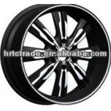 20-дюймовые черные спортивные шины bbs
