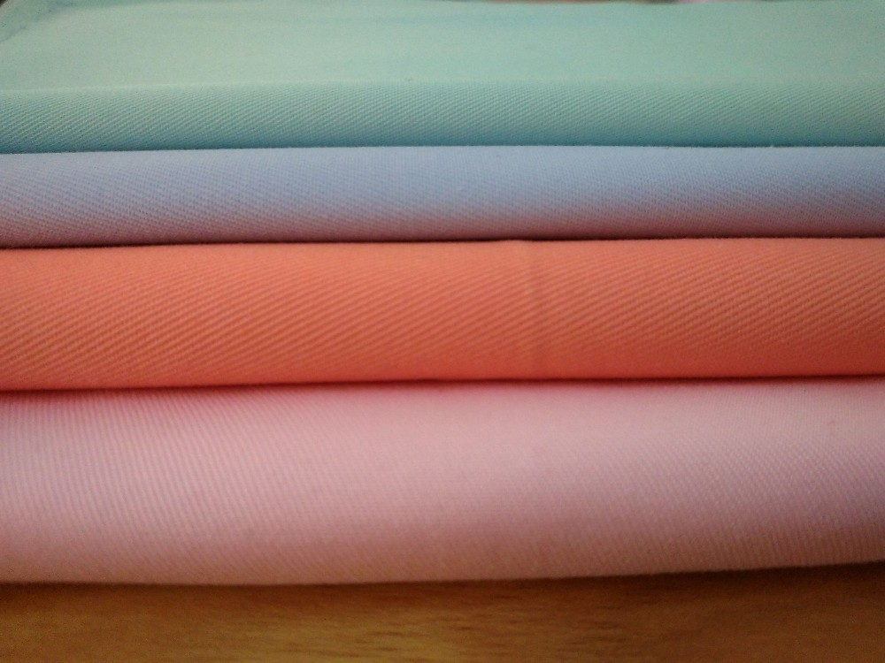 100% Cotton Twill Fabric for Pants