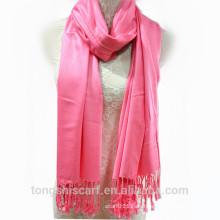 TS-014 Indien Viskose Schal einfarbig Viskose Schal Schal für Frau Hijab Fabrik in China Lieferant Alibaba China