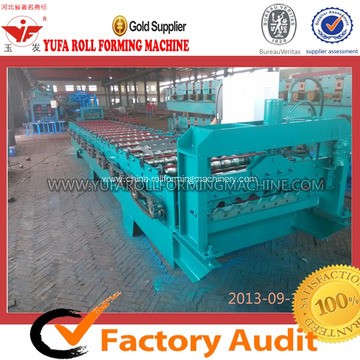 Cheapest Price for Roof Roll Forming Machine, Tile Roll Forming Machine | Roof Tile Roll Forming Machine Roof Panel Metal Sheet Making Machine export to Iran (Islamic Republic of) Manufacturer