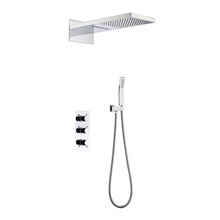 In-Wall Dual-Function Brass Shower Faucet