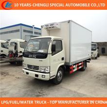 Caminhão refrigerado Dongfeng 4X2 do caminhão do refrigerador 6-8t para a venda