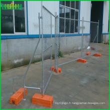 Clôture métallique amovible provisoire