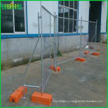 Временный съемный металлический забор