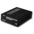 RJ45 Cat5 Gigabit LC Fiber Optic Media Converter
