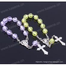 Murano 8mm Resin Rosary Bracelet