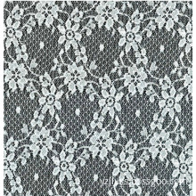 Nylon Pretty Flower Design Lace Fabric for Garments, Curtains and More