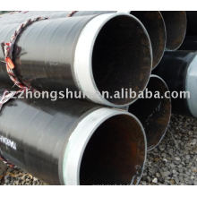 Tube 3PE / tube anti-corrosion / Traitement spécial de surface / canalisation d'huile