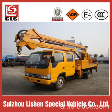12M Bucket Truck Mounted Man Lift Truck