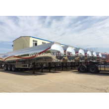 42,000 Liters Aluminum Fuel Tanker for gasoline