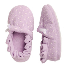 baby girl plush slippers custom house indoor warm shoes