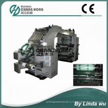 Machine d'impression Flexo à 4 feuilles en aluminium couleur (CH884-1400L)