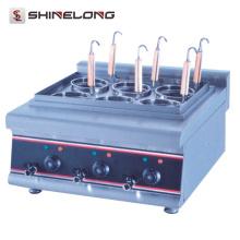 Cocedor comercial eléctrico de la pasta del precio al por mayor de la cocina de la encimera del ahorro de energía
