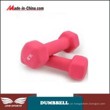 Mulheres Household Fitness Equipment Colorido Plástico Mergulho Dumbbell