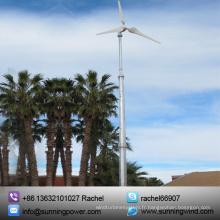 Éolienne horizontale d'Aixs de 5000 watts / générateur d'énergie éolienne / équipement d'énergie éolienne