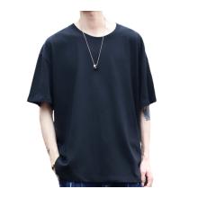 Camisetas de algodón de manga corta personalizadas para hombre