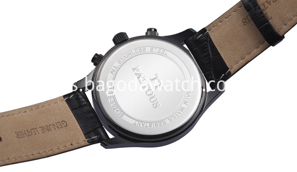 Stainless Steel Back Watch