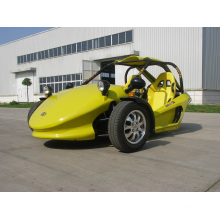 Желтый мотоцикл трехколесный велосипед два места ATV (KD 250MD2)