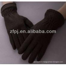 Gant en tricot élastique en laine de poignet élastique en gros