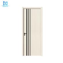 GO-A108 good quality door two panel modern fashion main wood doors