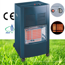 Black Indoor Portable Ceramic Gas Heater
