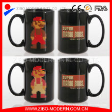 Wholesale Customized Logo Printing Black Ceramic Mug/Sublimation Mug for Promotion