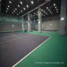 Revêtement de sol en PVC intérieur pour terrain de tennis