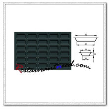 V052 Silicon Non-Stick 30 Cups Rectangle Cake Mould