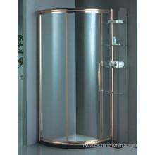 New Design Tempered Glass Coner Simple Shower Room (H015C)