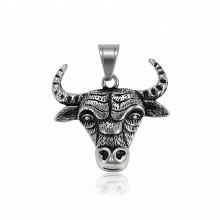 34375 xuping Custom design Stainless Steel jewelry Bull head pendant