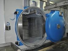 Máquina de secagem liofilização para frutas de gelo do vácuo