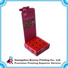 pantalla de impresión colorida de la venta caliente que dobla la caja de papel de encargo para la promoción