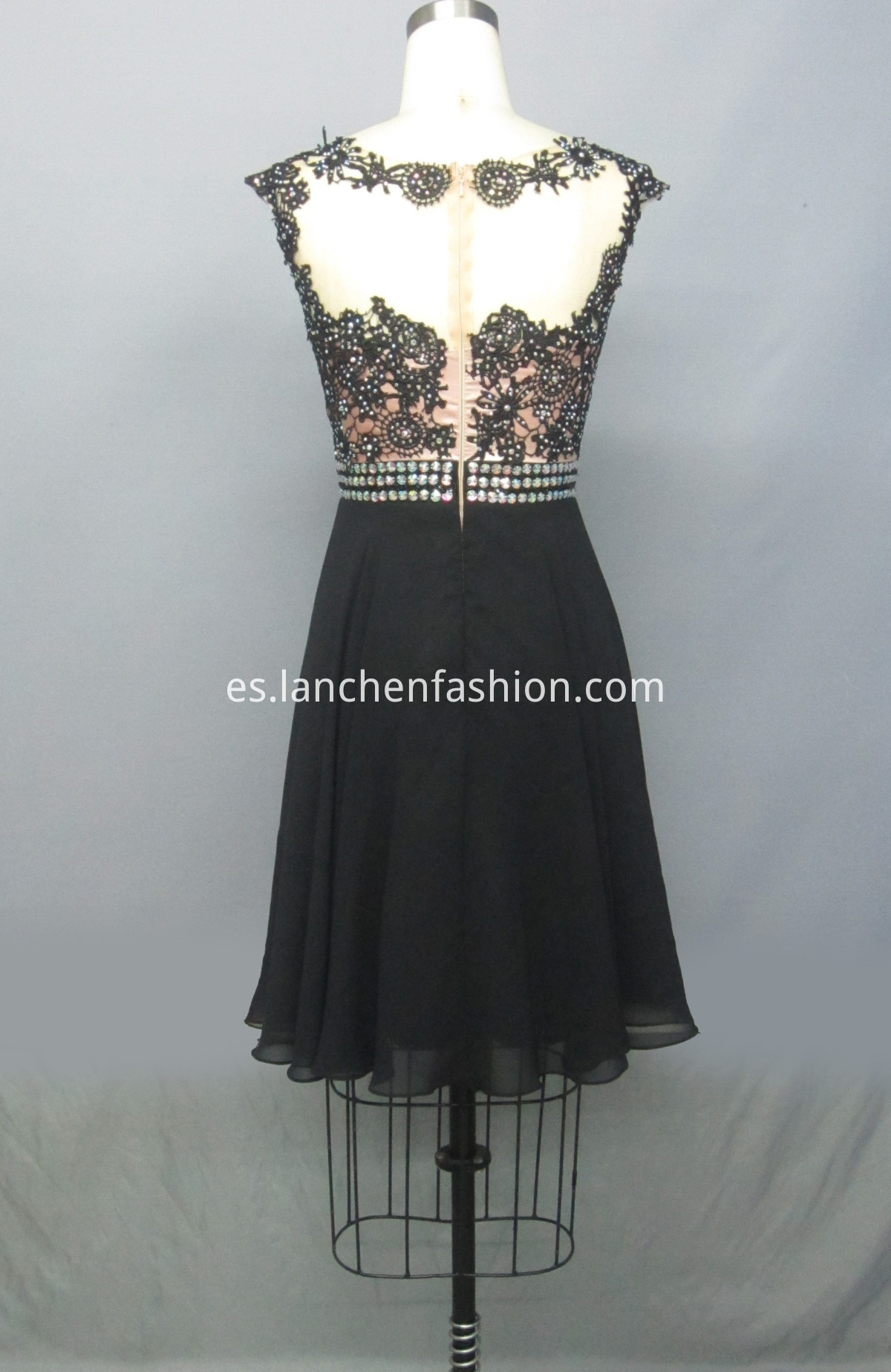 Formal Dresses BLACK back