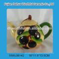 Taza 2016 de la leche de oliva de cerámica taza de la dolomía