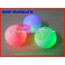 Les balles de golf colorées menées HOT vendent 2017 pour la formation de nuit