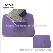 H-Slide diamond grinding plates for floor