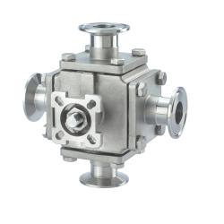 Casting Four way valves