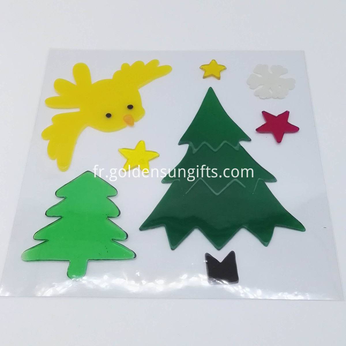 xmas tree stickers