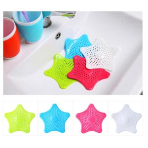 Starfish Shape Bathtub Drain Silicone Stopper