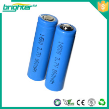 3.7v battery aa size 14500 rechargeable battery li-ion for scooter electric