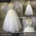 Beste Qualitätstropfen Taille wulstiges Hochzeitskleid